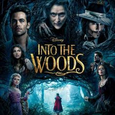 We saw the previews on the Disney Channel for Into The Woods and we were super excited to see it.