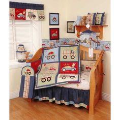 Little Traveler 6 Piece Baby Crib Bedding Set by Kidsline