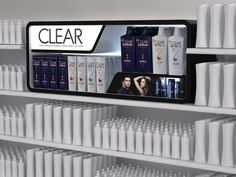 Hair Care PoP Concepts - Unilever on Behance Pos Display, Display Design, Display Shelves, Display Ideas, Product Display, Pos Design, Retail Design, Stand Design, Point Of Sale