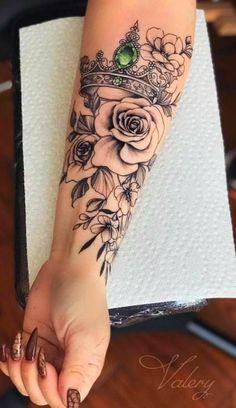 Unique Tattoos, Cute Tattoos, Beautiful Tattoos, Flower Tattoos, Small Tattoos, Awesome Tattoos, Tatoos, Unique Half Sleeve Tattoos, Flower Tattoo Hand