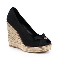 Tory Burch Espadrille Wedges FINAL PRICE $105 Excellent like new condition box not included. Bundle to save. NO Trades.60 Tory Burch Shoes Espadrilles