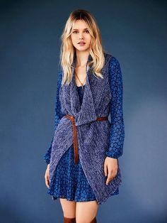Oversized Knit Vest 12/2016 - Knitting pattern