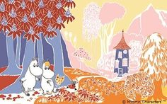 「Moominfamily's Songbook」彩色原稿(1)