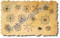 CAD Symbols Plan View Inddor Plants