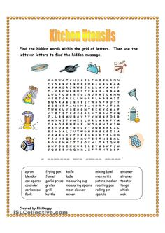Printables Food Safety Worksheets kitchen safety worksheets poster set posters utensils wordsearch