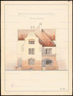 Vorderansicht, Inschrift: [u. r.] Hans Röhlike, Aufbewahrung/Standort: