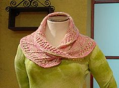 Knitty Gritty Pattern: Cat Bordhi's Mobius Scarf | Vickie Howell free pattern .... 4  ply cashmere 170 meters