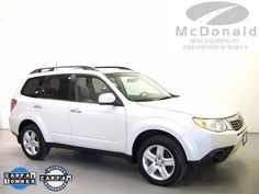 2009 Subaru Forester 2.5X  McDonald Independent. Specializing in Pre-Owned Subarus, Sales and Service. BILL BUCHELERES has be... [Read More]  Selling Price: $19,988  VIN: JF2SH63669H773446  Stock #: SP9H773446  Miles: 44,015  Transmission: Automatic  Exterior Color: White  www.mcdonaldvolvousedcars.com/littleton-co-used-volvo