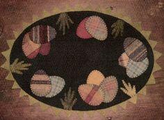 cute wool mat love the plaid easter eggs! 2019 cute wool mat love the plaid easter eggs! The post cute wool mat love the plaid easter eggs! 2019 appeared first on Wool Diy. Penny Rug Patterns, Felt Patterns, Felt Embroidery, Felt Applique, Felted Wool Crafts, Felt Crafts, Wool Mats, Felt Pillow, Wool Quilts