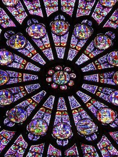 Photographic Print: A Rose Window in Notre Dame Cathedral, Paris, France by William Sutton : Stained Glass Church, Stained Glass Art, Stained Glass Windows, Rose Window, Church Windows, Glass Marbles, Through The Looking Glass, Mandala Art, Pattern Wallpaper