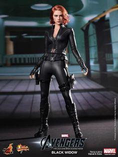 'The Avengers' Black Widow 1/6 Scale Figure