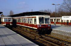 270 021-9 Berlin-Schöneweide, Januar 1990 Rail Transport, Public Transport, Berlin Today, Bahn Berlin, S Bahn, Transportation, Germany, Train, Photography