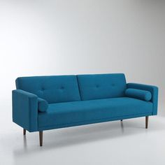 Canapé convertible 3 places, TUSKE La Redoute Interieurs | La Redoute Mobile Sofa Design, Interior Design, Canapé Convertible 3 Places, Living Room Scandinavian, Convertible Furniture, Mcm Furniture, Home Salon, Decoration Inspiration, Fabric Sofa