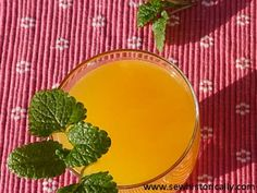 Orangeade Recipe, Juicy Fruit, Fresh Lemon Juice, 1920s, Beverages, Sew, Homemade, Recipes, Food