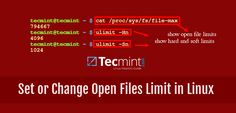 How to Increase Number of Open Files Limit in Linux