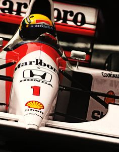 """Ayrton Senna McLaren - Honda 1992 """