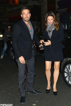 Ben Affleck and Jennifer Garner in Paris