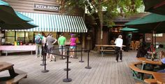 Curry Pizza Deck and Bar - Yosemite Village in Yosemite National Park