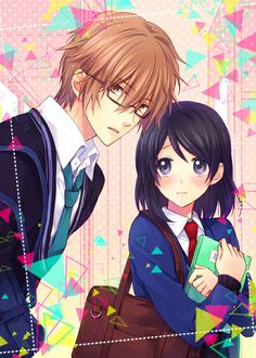 Cute anime couple~