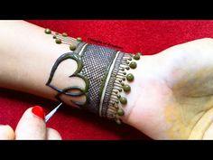 Heart Shape Rose Mehndi Design for Hands Henna Designs Arm, Mehandi Design For Hand, Rose Mehndi Designs, Basic Mehndi Designs, Back Hand Mehndi Designs, Stylish Mehndi Designs, Mehndi Designs For Girls, Mehndi Design Photos, Mehndi Designs For Fingers