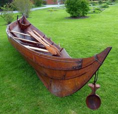 Viking ship Gro, National Botanic Gardens, Ireland