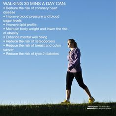 It's National Walking Day. Learn what walking can do for your health.