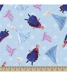 Disney® Frozen Print Fabric-Sisters Forever by BlanketsbyRuthanne on Etsy