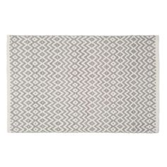 Teppich Aus Baumwolle, Grau, 60 X 90 Cm, TAVIRA