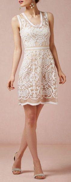 Ivory Lace Dress <3