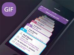 20가지 GIF 애니메이션으로 설명하는 모바일 UI 예시 - 열정 야매자료실