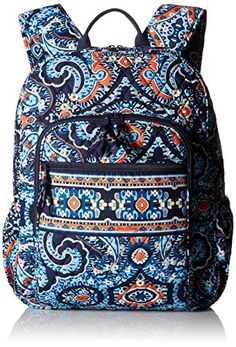 Vera Bradley Campus 2 Backpack With all the size of a serious backpack and all the organization a student could need, the Campus Backpack has school covered. Cute Backpacks, School Backpacks, Vera Bradley Patterns, Punk Jewelry, Skull Jewelry, Hippie Jewelry, Jewelry Accessories, Backpack Reviews, Thing 1
