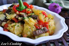 Lea's Cooking: Beef with Bell Pepper and Potatoes