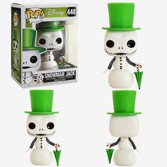 Closer look at Snowman Jack. Coming soon! Disney Pixar, Disney Pop, Funko Pop Figures, Pop Vinyl Figures, Pop Vinyl Collection, Pop Figurine, Sally Nightmare Before Christmas, Jack And Sally, Pop Dolls