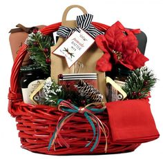 Country Breakfast Christmas Gift Basket at Gift Baskets Etc - Madelaine Siggery Halloween Gift Baskets, Wine Gift Baskets, Gourmet Gift Baskets, Christmas Gift Baskets, Basket Gift, Spa Gifts, Wine Gifts, Holiday Gifts, Christmas Gifts