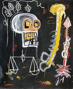 ARTSENGLISH - keith haring,jean-michel basquiat and blek le rat Jean Basquiat, Jean Michel Basquiat Art, Basquiat Tattoo, Jasper Johns, Basquiat Paintings, Basquiat Artist, Art Noir, Josef Albers, Street Art