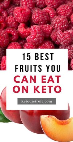 Low Carb Keto, Low Carb Recipes, Diet Recipes, Keto Diet Plan, Ketogenic Diet, Low Calorie Fruits, Fruit And Vegetable Storage, Keto Fruit, Keto Snacks
