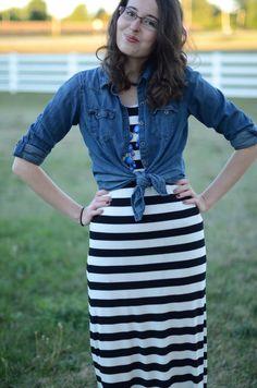 Bramblewood Fashion ❘ Modest Fashion Blog: What I Wore ❘❘ Early Autumn Days