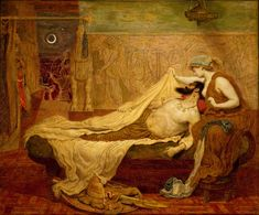 Delaware Art Museum - Pre-Raphaelite Brotherhood...The Dream of Sardanapalus by Ford Maddox Brown