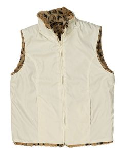 This Nylon Vest Faux Fur Lining is super trendy for the Ladies'! The look and feel of fur without the price (or slaughterhouse!). You will surely love this as it will not just make you warm but comfortable at the same time. | eBay!