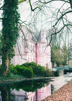 roze kasteel Land van Ooit, zilverblauw.nl
