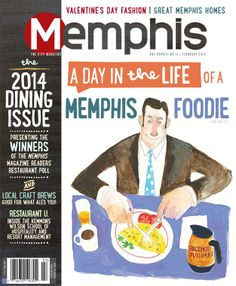 The annual February Memphis Dining Guide is on newsstands now! Featuring your winners of the Memphis Readers' Restaurant Poll and MUCH more :)