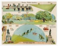 76.305: Boston Public Garden | diorama | Play Sets | Toys | Online Collections | The Strong