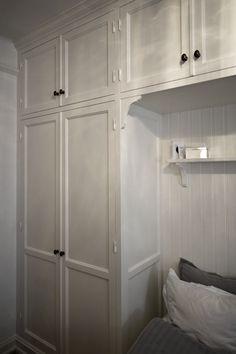 Inbyggd Garderob Sekelskifte Sovrum Pinterest