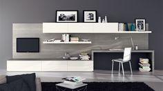 libreria scrivania soggiorno - Cerca con Google