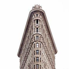 The Flatiron Building is so New York. #architecturelove