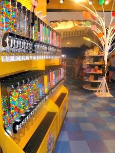 The candy shop at WonderWorks in Panama City Beach