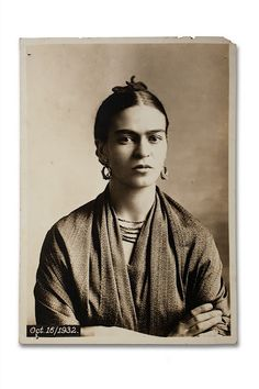 Frida Kahlo.  Cool stuff. . .  http://www.huffingtonpost.com/evelyne-politanoff/in-memory-of-frida-kahlo-_b_1321594.html