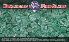 Green Nugget – Fire Pit Glass Crystals