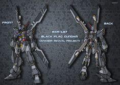 BLACK FLAG GUNDAM Fanmade Gundam Design - Gundam Kits Collection News and Reviews