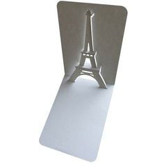Pop-up Eiffel Tower Card. Free printable template and video tutorial.
